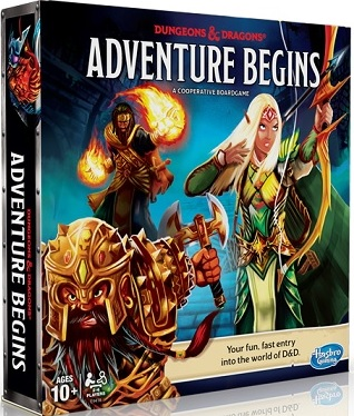 Dungeons and Dragons: Adventure Begins Boardgame [DAMAGED]