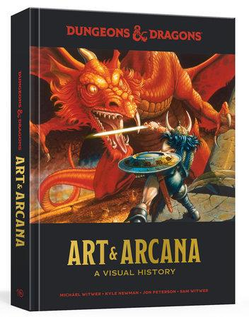 Dungeons and Dragons: Art and Arcana- A Visual History [Damaged]