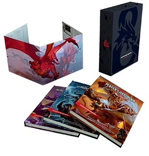 Dungeons and Dragons: Core Rulebook Gift Set