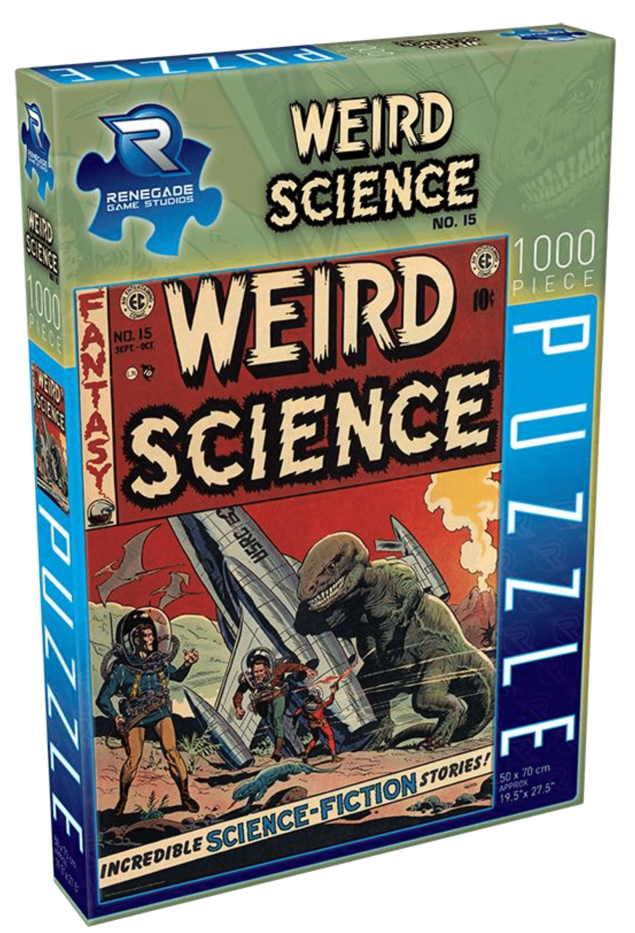 EC Comics Weird Science-Fantasy No. 15 (1000 Piece Puzzle)