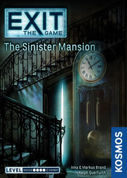 EXIT: THE SINISTER MANSION [Damaged]