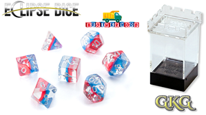 Eclipse Dice: 7 Piece Set - BROTHERHOOD