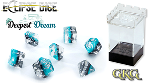 Eclipse Dice: 7 Piece Set - DEEPEST DREAM