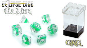 Eclipse Dice: 7 Piece Set - ELF KING