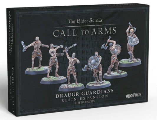 Elder Scrolls Call To Arms: Draugr Guardians (RESIN)