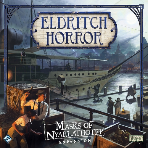 Eldritch Horror: Masks of Nyarlathotep [DAMAGED]