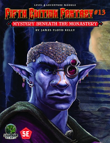 FIFTH EDITION FANTASY #13: MYSTERY UNDER MONASTERY