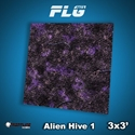 FLG Mats: Alien Hive- Purple (3x3)