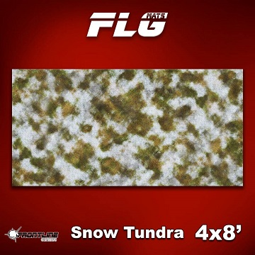 FLG Mats: Snow Covered Tundra 1 (8x4)