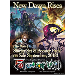 Force Of Will: New Dawn Rises- Booster Pack