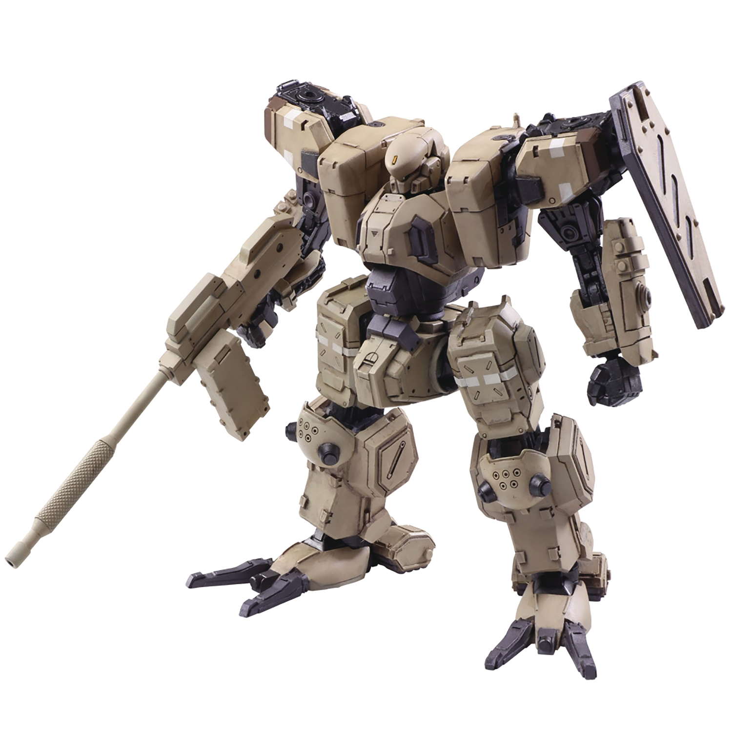 FRONT MISSION: 1ST WANDER ARTS ZENITH ARID CAMO VARIANT (Action Figure)