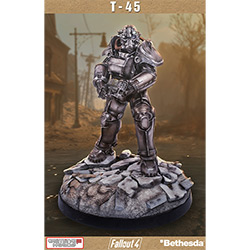"Fallout 4 T-45 Power Armor (22"" Statue)"