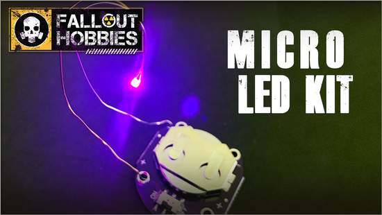 Fallout Hobbies: Micro LED Kit- Red