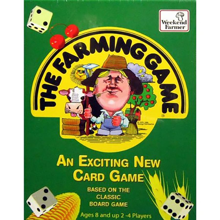 Farming Game Card Game [DAMAGED]