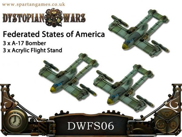 Dystopian Wars: Federated States Of America: Bombers