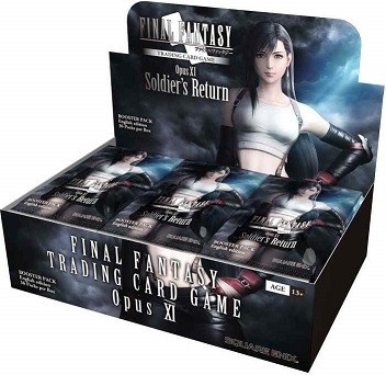Final Fantasy Opus 11 Collection Booster - Soldiers Return - Booster Pack