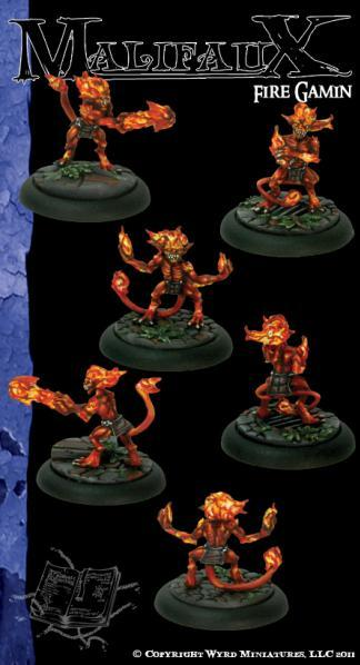 Malifaux: Arcanists: Fire Gamin [SALE]