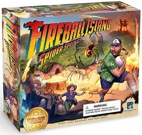 Fireball Island: Spider Springs  [DAMAGED]