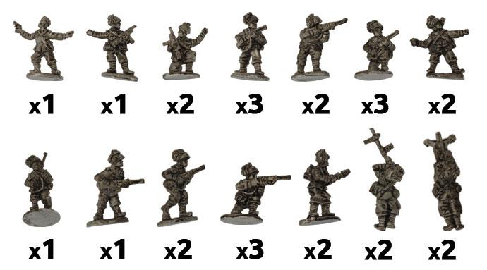 Flames of War: Italian: Assault Engineer Platoon