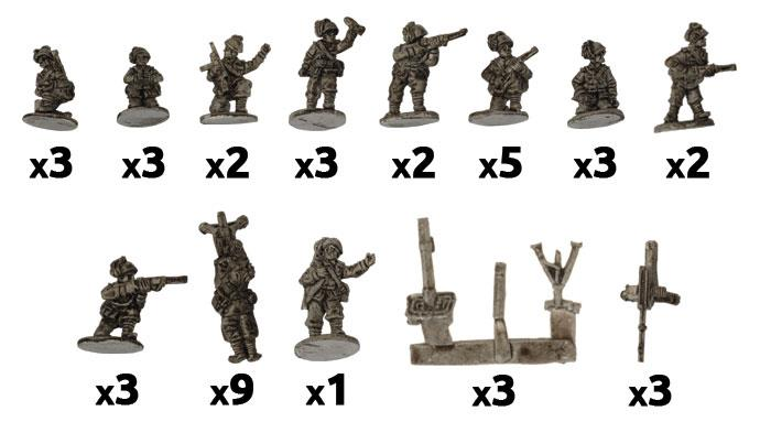 Flames of War: Italian: MG and Mortar Platoons (Bersaglieri)