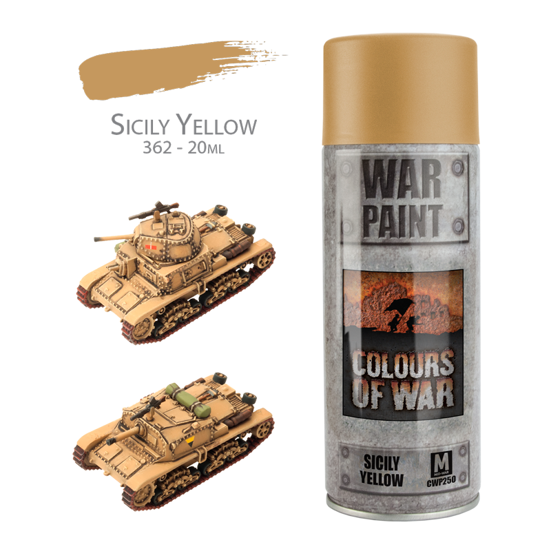 Flames of War: Spray Paint: Sicily Yellow