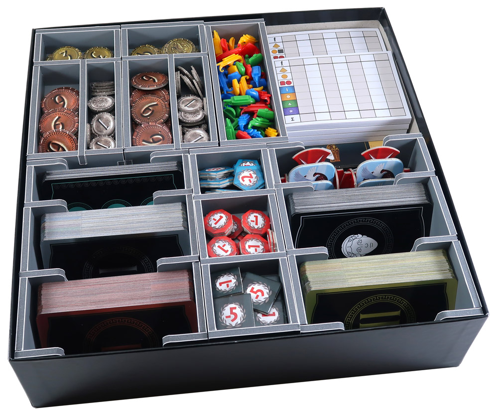 Folded Space: Board Game Organizer- 7 Wonders 2nd Edition