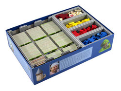 Folded Space: Board Game Organizer- Carcassonne