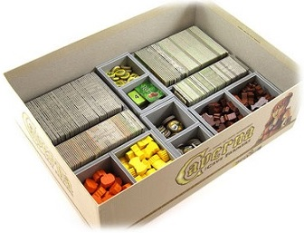 Folded Space: Board Game Organizer- Caverna