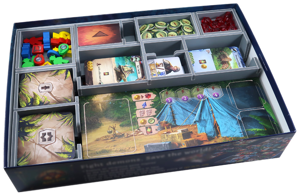 Folded Space: Board Game Organizer- Lost Ruins of Arnak