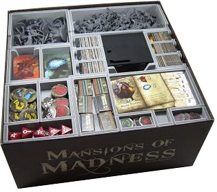 Folded Space: Board Game Organizer- Mansions of Madness 2nd Edition
