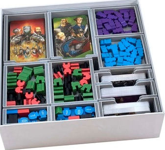 Folded Space: Board Game Organizer- Paladins of the West Kingdom