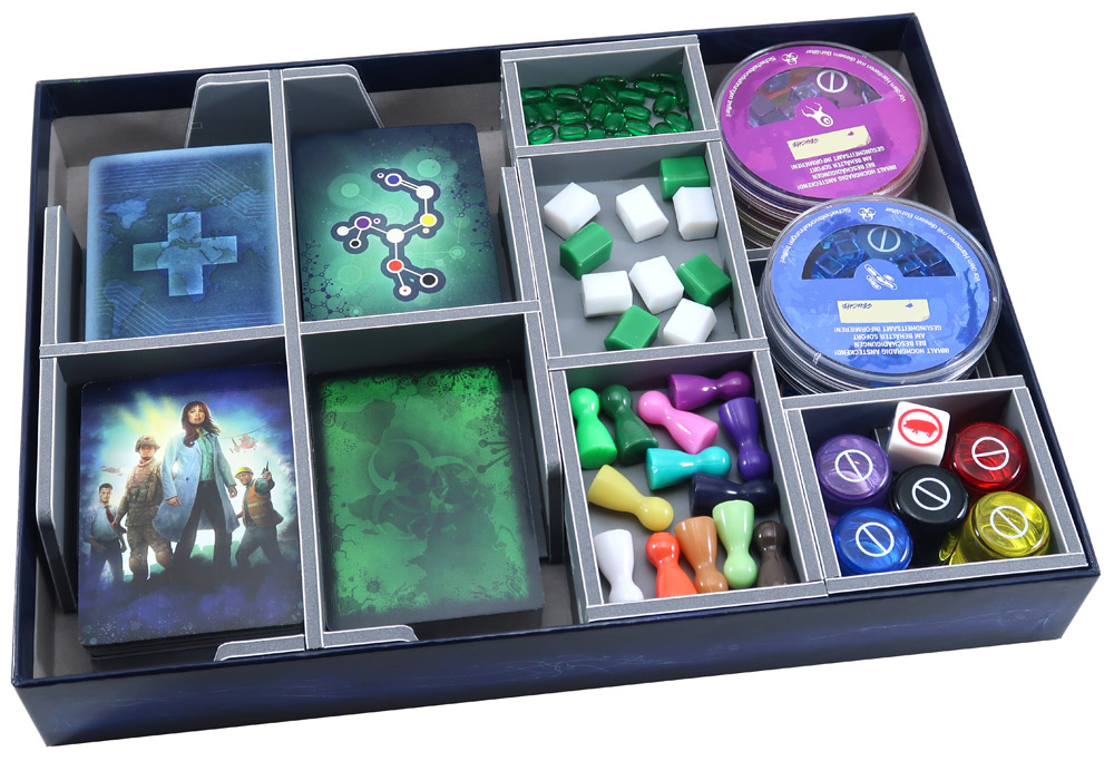 Folded Space: Board Game Organizer- Pandemic (with expansions)