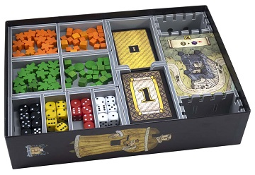 Folded Space: Board Game Organizer- Troyes