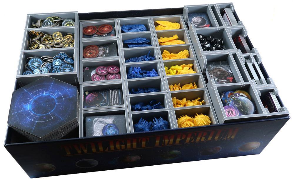 Folded Space: Board Game Organizer- Twilight Imperium: Prophecy of Kings Expansion
