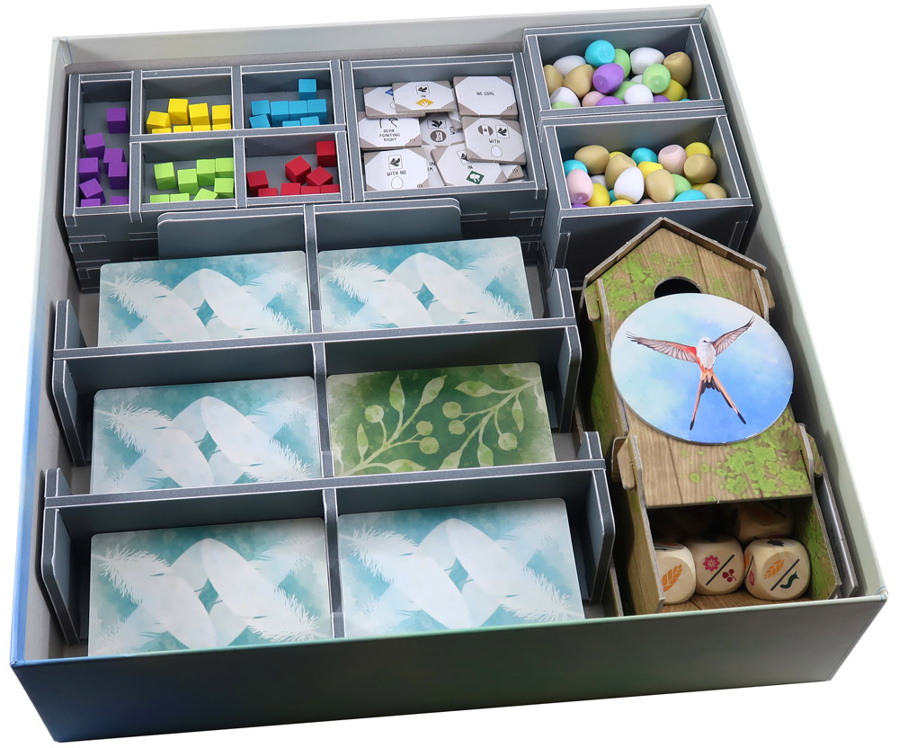 Folded Space: Board Game Organizer- Wingspan 2nd Edition (with expansions)