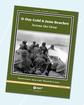 Folio Game Series: D-Day Gold & Juno Beaches- Across the Orne