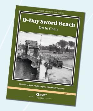 Folio Game Series: D-Day Sword Beach- On to Caen