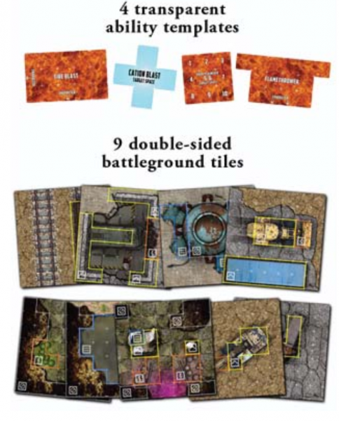 For What Remains: Tiles and Templates Expansion Pack