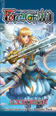 Force of Will: Alice Origin: 1st Booster  - Booster Pack