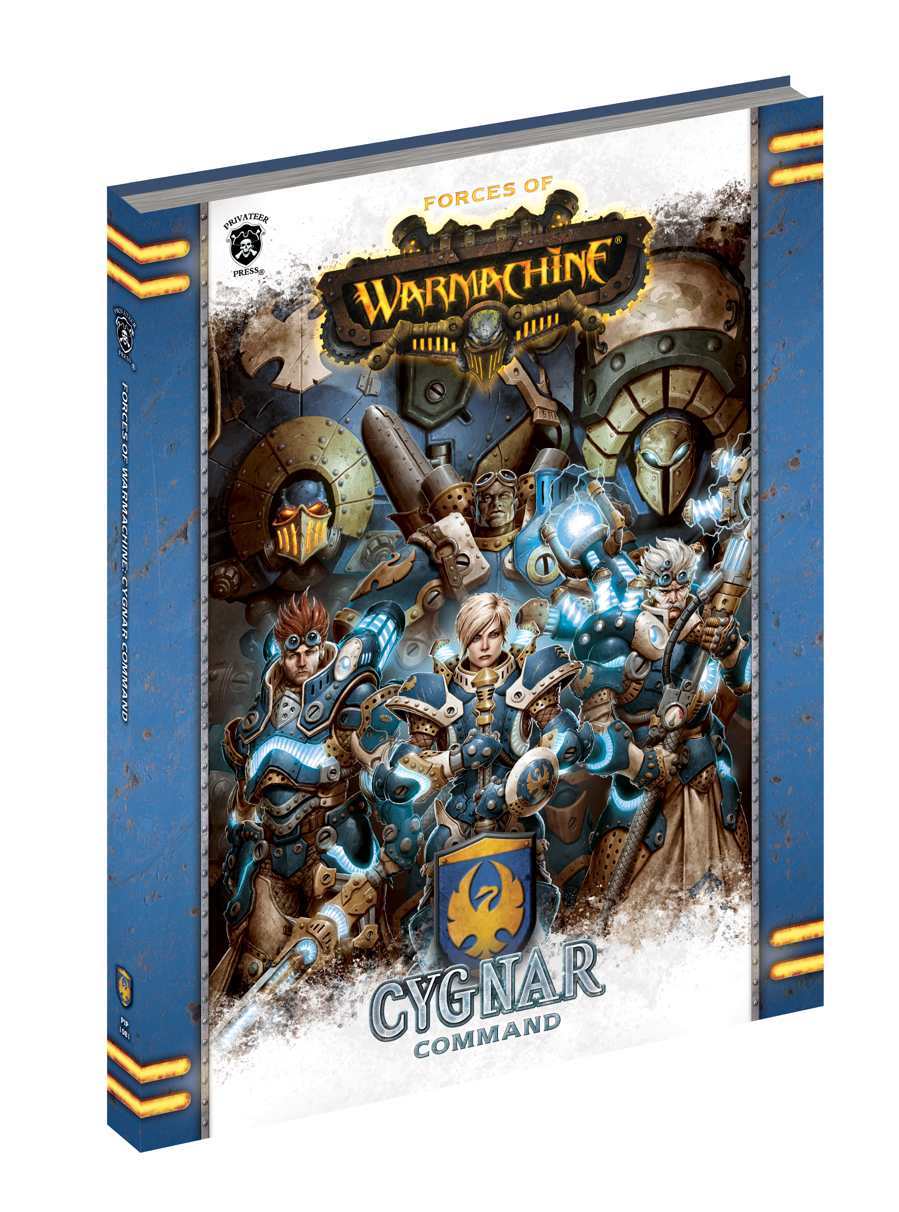Forces Of Warmachine: Cygnar Command (HC)