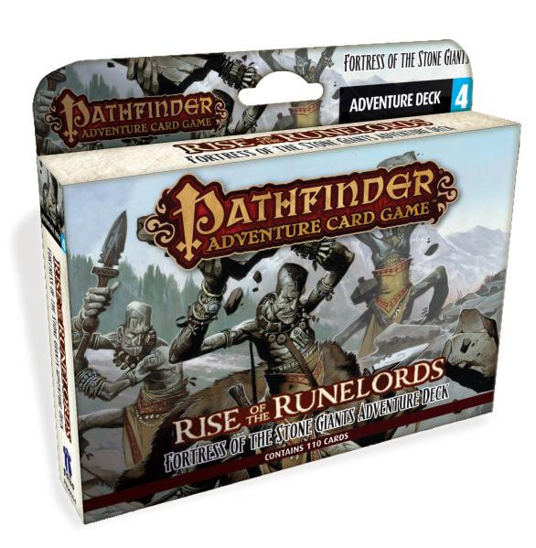Pathfinder Adventure Card Game: Rise of The Runelords- Fortress of the Stone Giants [SALE]