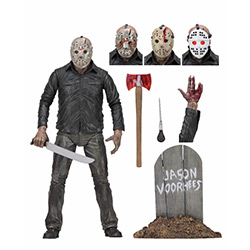 "Friday the 13 Part 5- Jason (Ultimate 7"" Action Figure) [Damaged]"