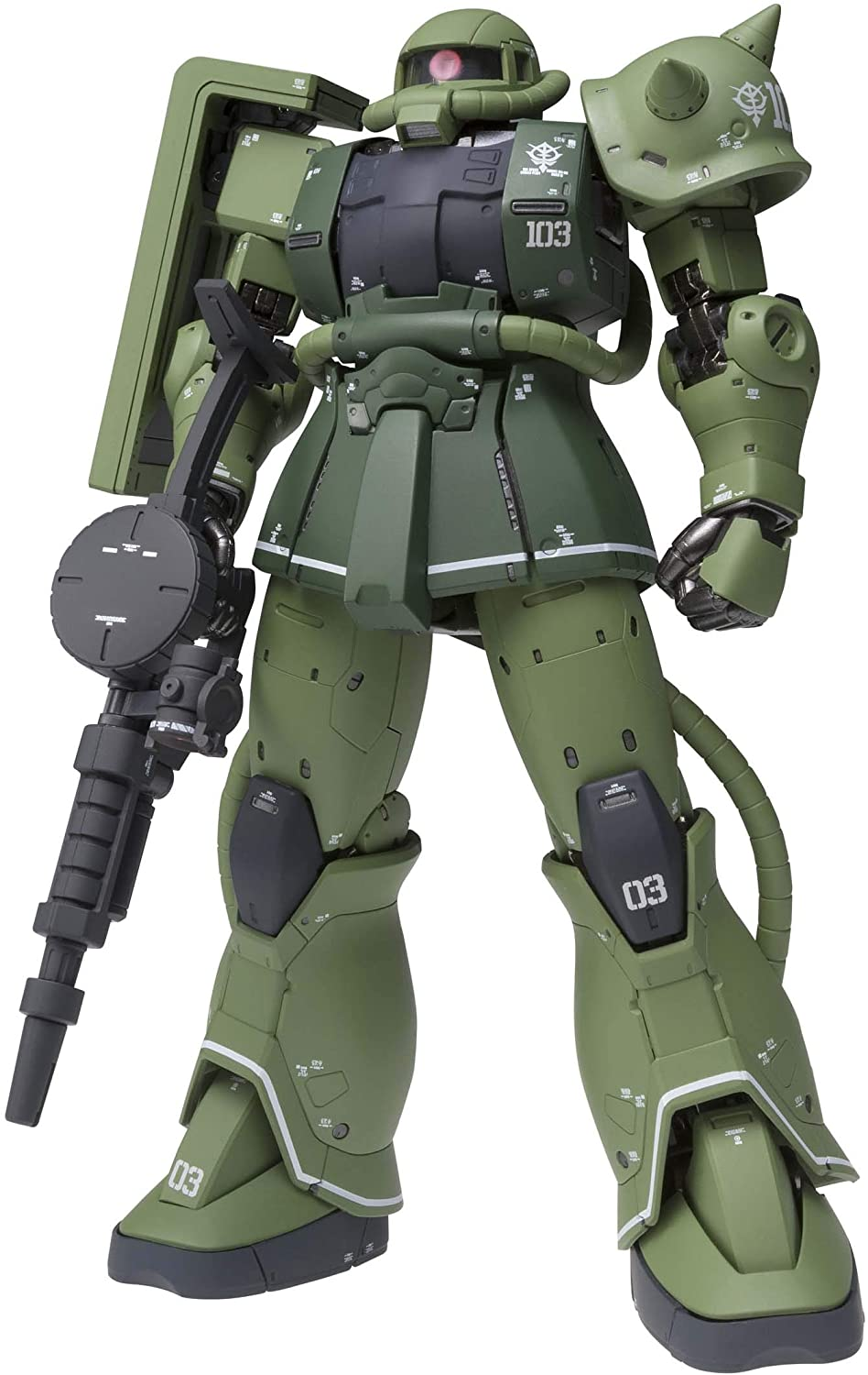 "G.F.F. Metal Composite: ""Mobile Suit Gundam: The Origin"" MS-06C Zaku II Type C"