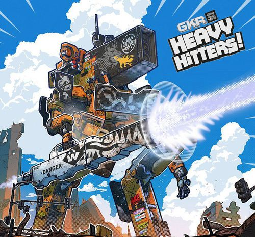 GIANT KILLER ROBOTS : HEAVY HITTERS! [Damaged]