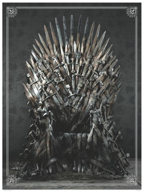 Game of Thrones: IRON THRONE (1000 Piece Puzzle)