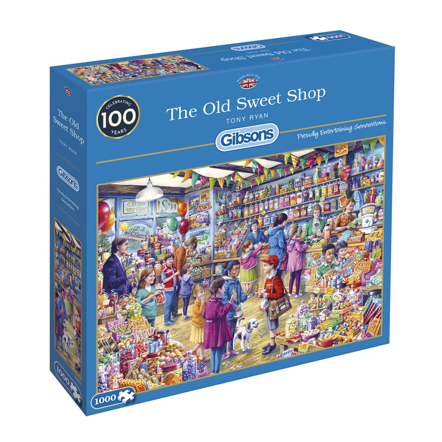 Gibsons Puzzles (1000): The Old Sweet Shop