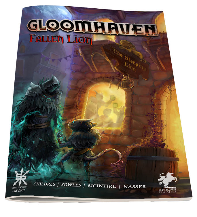 Gloomhaven: Fallen Lion Comic