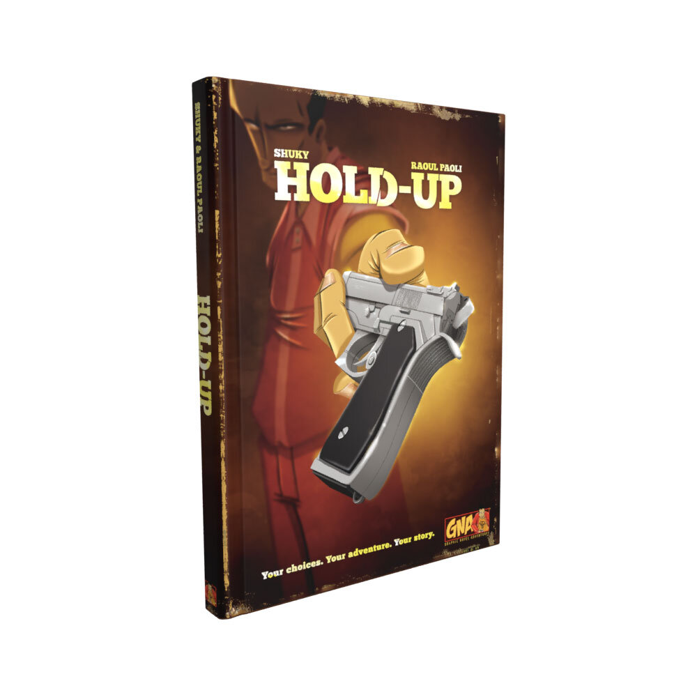 Graphic Novel Adventures #13: Hold Up