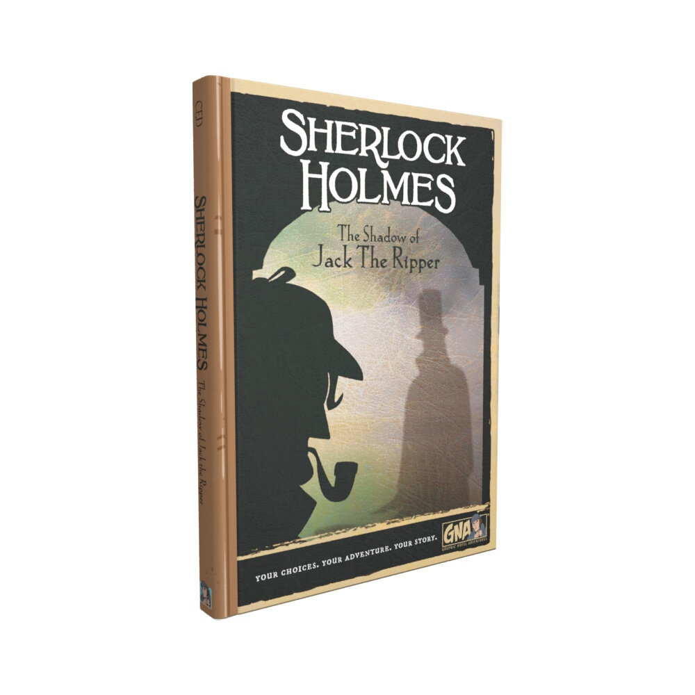 Graphic Novel Adventures #15: Sherlock Holmes: The Shadow of Jack the Ripper