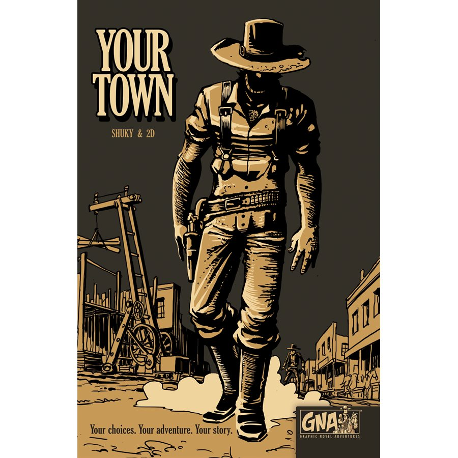 Graphic Novel Adventures #4: Your Town [Damaged]